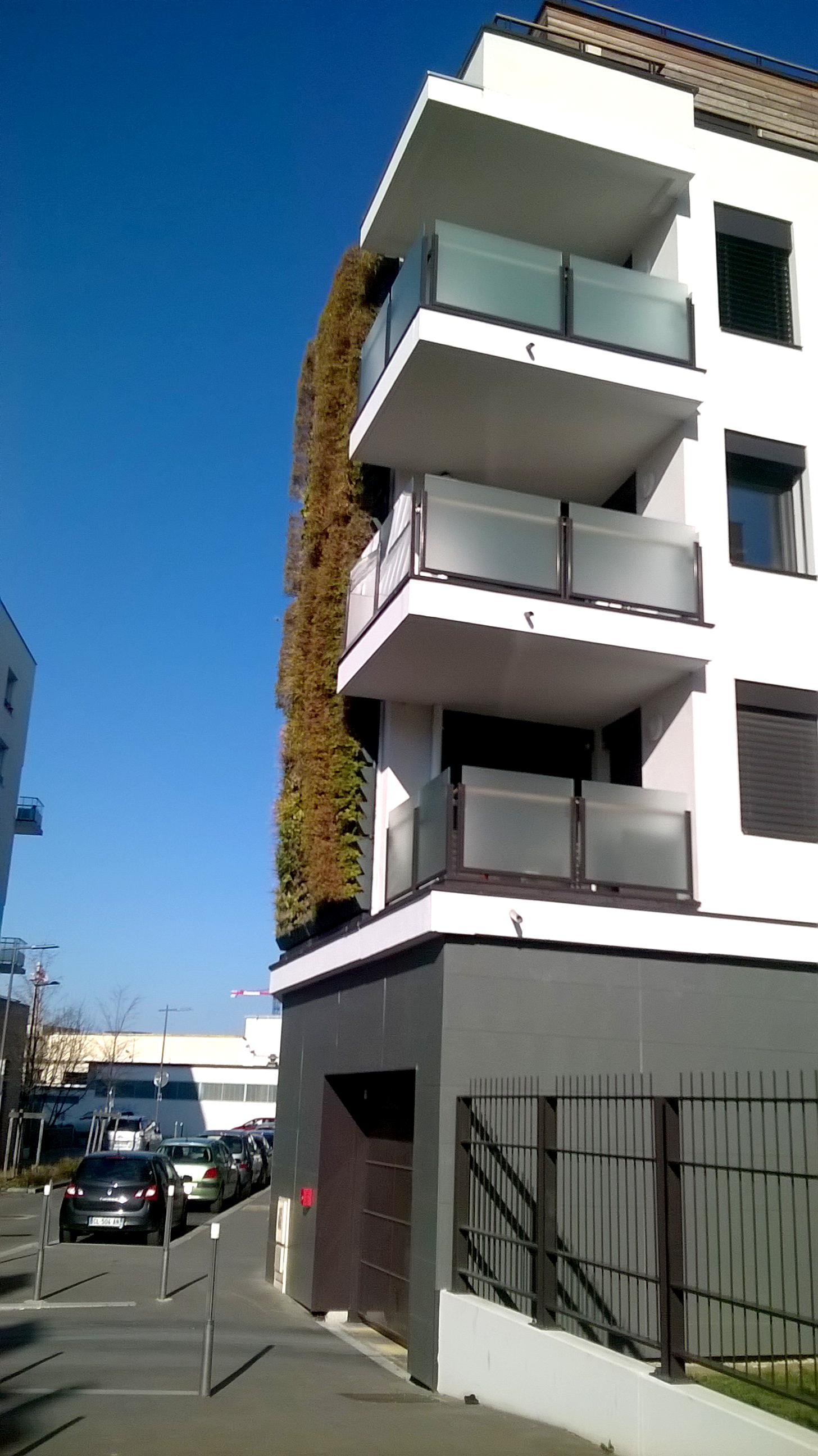 Garde-corps balcon sur mesure Thurins 69